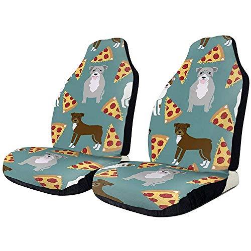 Fall Ing Pitbull Pizza Dog Funny Dogs Autostoelbekleding Stoelbekleding Stoelbekleding Stoelbekleding Stoelbekleding Stoelbekleding Stoelhoezen geschikt voor de meeste auto's