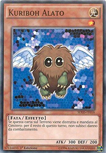 YU-GI-OH! - SDHS-IT016 - Kuriboh Alato - Attacco degli Eroi - 1st Edition - Comune