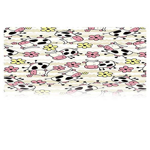 Mouse Pad Xxl Cartoon Animal Print Afbeeldingen Muis Pad Toetsenbord Mousepads Notebook Radiator Mat Anti-lip Gaming Muis Mat, 800 * 300 * 3mm