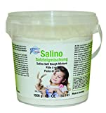 CREARTEC Salino Salzteigmischung - perfekte Knetmasse zum Formen und Modellieren - kein Spielzeug -1000g - Made in Germany