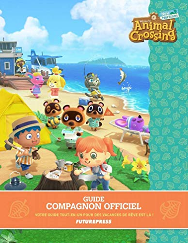 Guide Jeux Vidéo - Guide Officiel Animal Crossing - Guide Collector Français - Guide Animal Crossing New Horizons - Guide Édition FuturePress