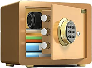 Home Electronic Safes, Digital Security Safe Box with Keypad Lock for Student Dormitory Home Office Hotel Jewelry Use Stor...
