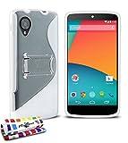 Muzzano Le S - Funda para Google Nexus 5, color blanco