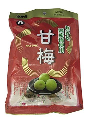 赤城フーズ 甘梅 120g×10袋