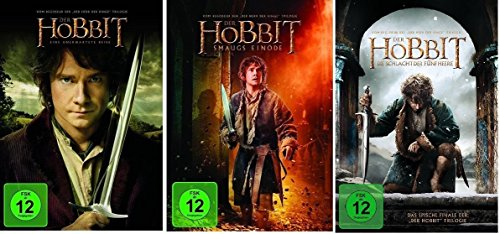 Der Hobbit: Teil 1+2+3 * DVD Set