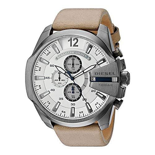 Diesel Reloj Digital para Hombre de Cuarzo con Correa en Cuero 4053858489240