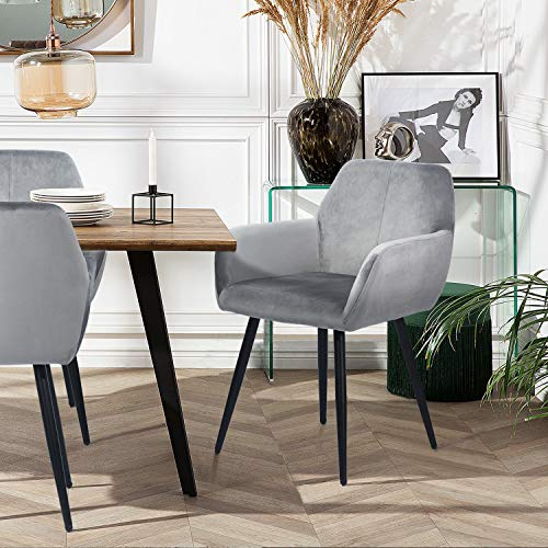 silla nordica gris de la marca FurnitureR