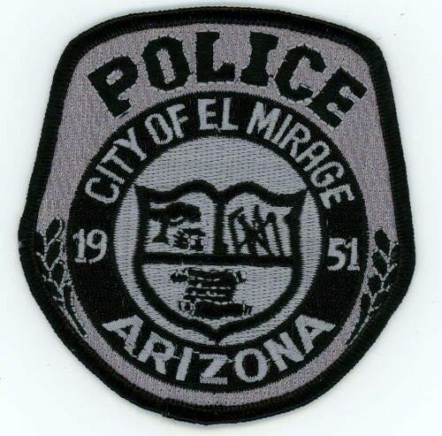EL Mirage Police Subdued SWAT Arizona AZ Patch Sheriff