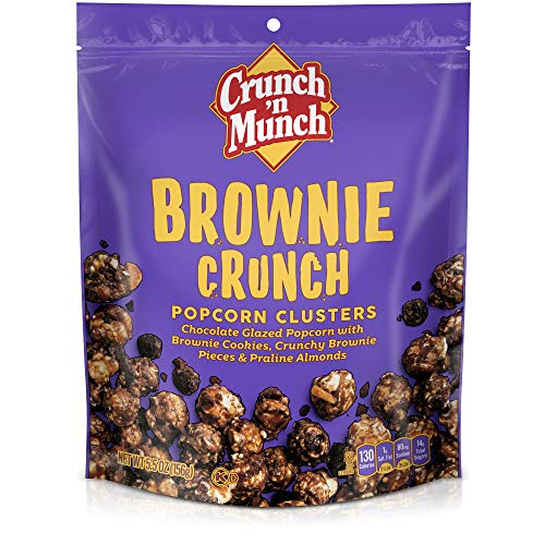 CRUNCH 'N MUNCH Brownie Crunch Flavored Popcorn, 5.5 oz.$2.68