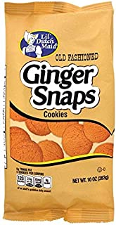 Valentine's Day Special Lil' Dutch Maid Old Fashioned Ginger Snaps, 10-oz. Bags (Pack of 2)