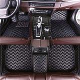 DBL Auto felpudos para A UDI A8 5 seats 2006 – 2010 impermeable antideslizante piel alfombras accesorios interiores Auto Alfombras Set Set Negro