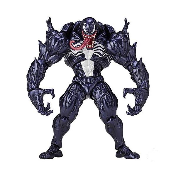Venom Eddie Brock Venom Figura de acción Modelo de Juguete para niños Juegos Decoración Juguetes para niños para niños… 1