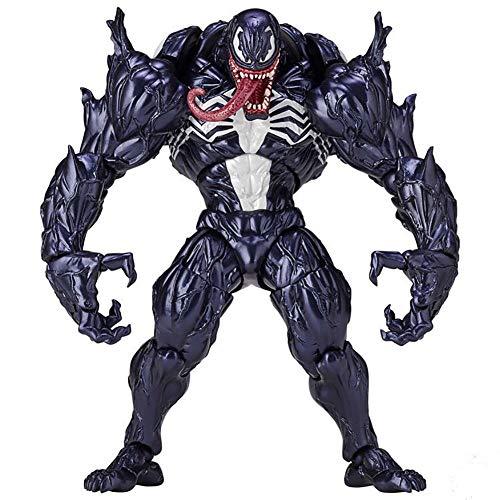 Venom Eddie Brock Venom Figura de acción Modelo de Juguete para niños Juegos Decoración Juguetes para niños para niños Colección de Regalos de cumpleaños