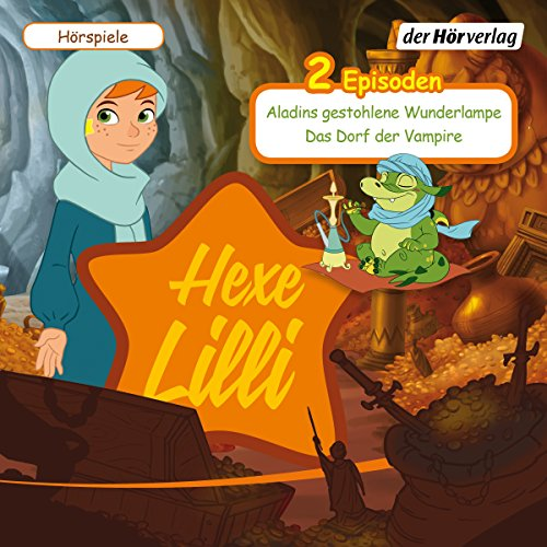 Aladins gestohlene Wunderlampe & Das Dorf der Vampire     Hexe Lilli              By:                                                                                                                                 div.                               Narrated by:                                                                                                                                 Thomas Karallus,                                                                                        Daniela Golpashin,                                                                                        Paul Sedlmeir,                   and others                 Length: 46 mins     Not rated yet     Overall 0.0