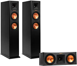 Klipsch RP-250F Reference Premiere Floorstanding Speaker Package with RP-250C Center Channel Speaker (Ebony)