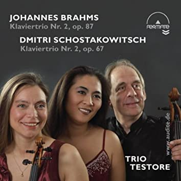 Piano Trios by Brahms (Op. 87) & Schostakowitsch [Op. 67]