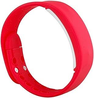 SURMOS USB Smartband W2 Bracelet Time Display Smart Wrist Band Watch with Calorie 3D Pedometer Sleep Monitor Waterproof Wristband(Red)