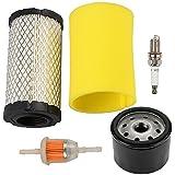 Harbot LA125 Air Filter Tune Up Maintenance Service Kit for 793569 793685 JD LA115 D100 D110 D120 L100 E110 Lawn Tractor