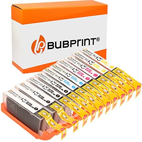 Bubprint Kompatibel Druckerpatronen als Ersatz für Canon PGI-570 CLI-571 XL für Pixma MG5700 MG5750 MG5752 MG5753 MG6850 MG6852 MG7750 TS5000 TS5050 TS5053 TS5055 TS6050 TS8050 Multipack 10er-Pack