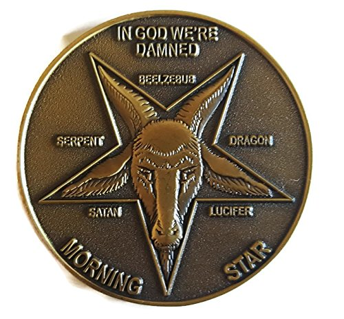 Lucifer Morningstar (TV Show) Bronze-Tone Inspired Pentecostal Replica Token 1:1 Scale