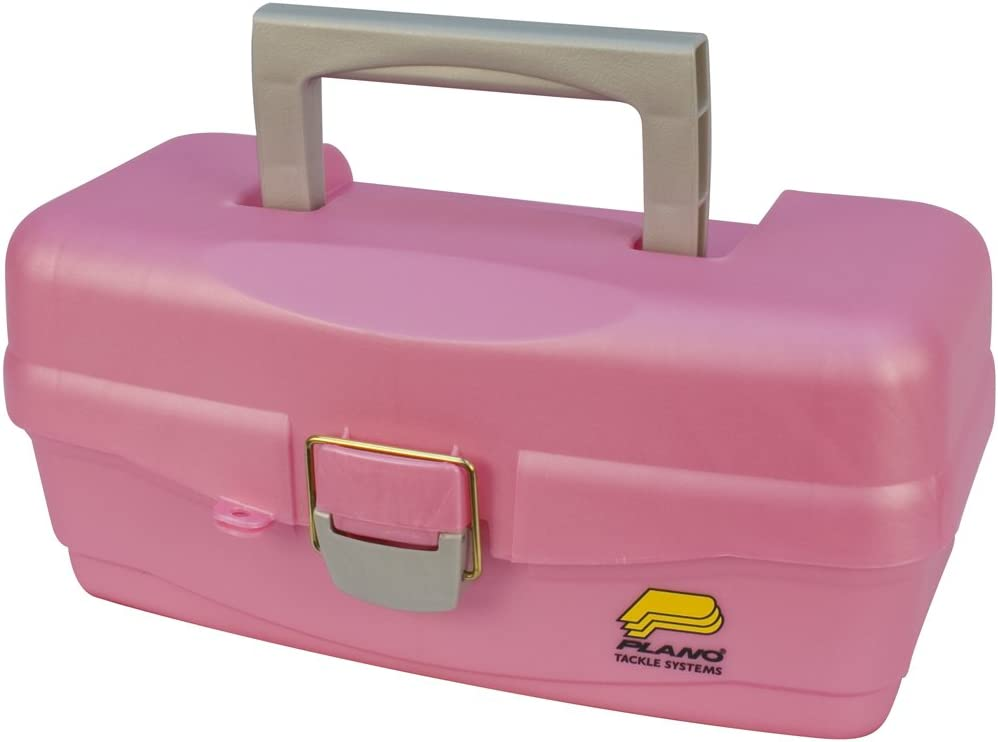 Dealing full price reduction Plano One Tray Tackle Box Pink New popularity Storage Premium Multi