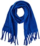 Only Onlemma Solid Heavy Brushed Woven Scarf Bufanda, Azul (Surf The Web Surf The Web), Talla Única para Mujer