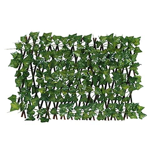 GHMPNLG Decoración de Hojas, vegetación Artificial, follaje Falso, retráctil, para Cocina de jardín Oficina de Pared Decoración de la Pared
