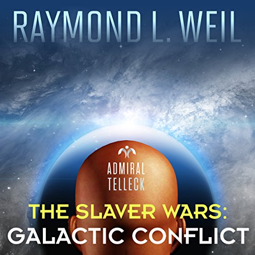 Galactic Conflict audiobook cover art