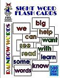 Sight Word Flash Cards: 500 Rainbow Words