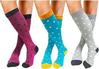 ACTINPUT Compression Socks (20-30mmHg) For Women&Men - Best for Running,Travel,Cycling,Pregnant