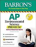 AP Environmental Science Premium: With 5 Practice Tests (Barron's Test Prep)