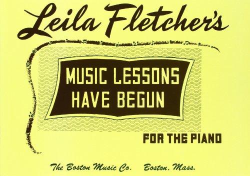 Music Lessons Have Begun -Piano-: Noten für Klavier