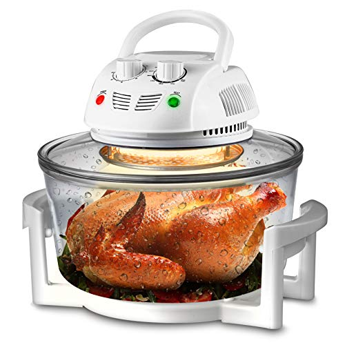 NutriChef Air Fryer, Infrared Convection Oven,...