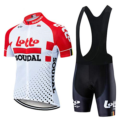 XGFHX Jersey de ciclismo de manga corta para hombre traje de ciclismo para deportes al aire libre camiseta de secado rápido