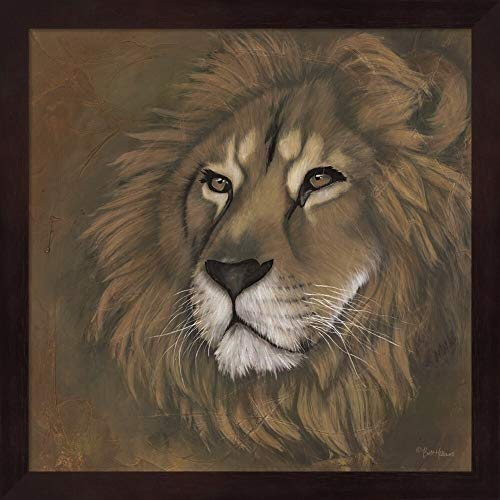 Unknown1 King Has Returned' Framed Art Modern Contemporary Square Includes Hardware