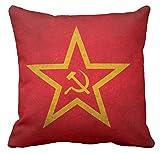 CUSCINO PERSONALIZZATO 40X40 COMUNISMO PARTITO COMUNISTA SIMBOLO PUGNO CHIUSO PROLETARIATO HAND UP MARX LENIN STALIN MAO URSS CCCP CINA RUSSIA REVOLUTION 3 IDEA REGALO