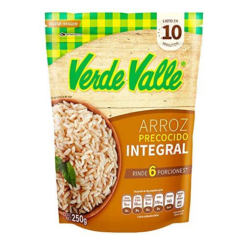 Verde Valle, Arroz Precocido, Integral, 250 gramos