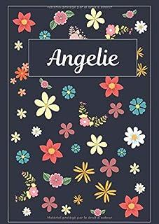 Angelie: Agenda Personnalisé   Journal   120 pages   A4   Blanc   Idées Cadeaux