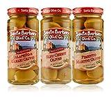 Santa Barbara Olive Co   Premium Individually Hand Stuffed Olives   VARIETY PACK COMBO   3 Pack (5...