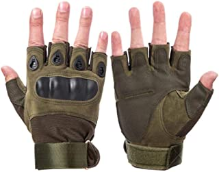 Army Military Tactical Gloves Paintball Airsoft Shooting Combat Anti Skid Bicycle Hard Knuckle Full Finger Gloves Men's Gloves