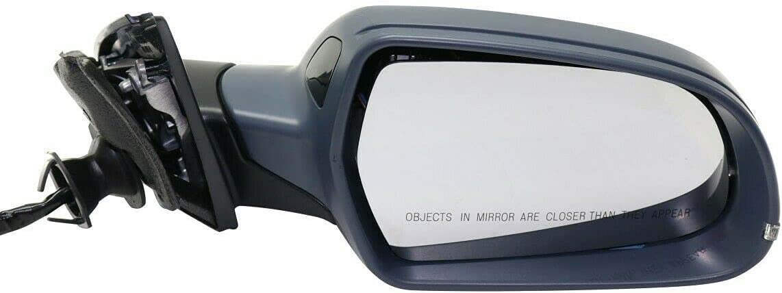 Mirror Right Hand Side Heated Compatible Audi mart Passenger Fixed price for sale with RH