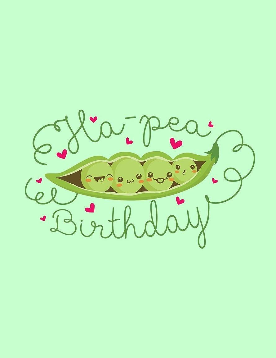 ヘルメットテレビ予知Ha-Pea Birthday: The Perfect Vegan Notebook For Every Birthday Pun Lover (Vegan Humor Journals)
