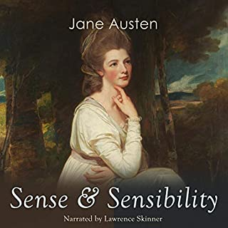 Sense & Sensibility audiobook cover art