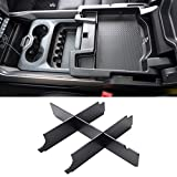 Jaronx For Dodge Upper Center Console Organizer, For RAM 1500 (2019-2021) |RAM 2500/3500 (2019-2021),with full center console and bucket seats(for RAM Rebel, Bighorn,Laramie,Laramie Longhorn, Limited)