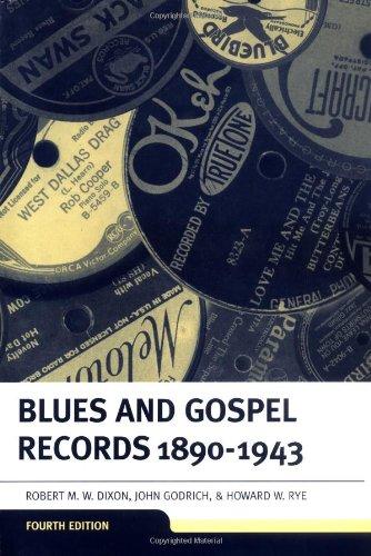 Blues & Gospel Records: 1890-1943 (BLUES AND GOSPEL RECORDS)