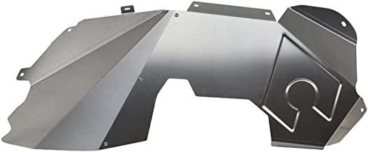 Artec Industries Solid Front Bare Steel Inner Fenders Fits 2007 To 2017 Jeep Wrangler JK