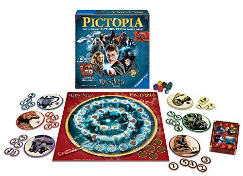 Ravensburger 26293 Pictopia-The Picture Trivia Juego para niños y Adultos a Partir de 7 años Cualquier Fan de Harry Potter