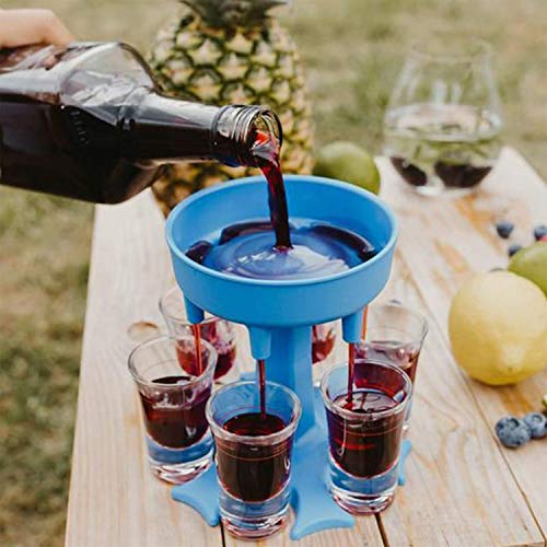 6 Schnapsglasspender und Halter, Schnapsglas-Spender Schnapsglas-Ausgießer Schnapsglas Spenderhalter Trinkspiele Schnapsgläser Bringen Schnaps-Verteiler, Cocktail-Shots Spender For Filling Liquids