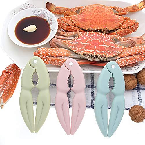 Alivier Creative Nordic Wind Walnut Clip Tuerca Clip Utensilios de Cocina Cangrejo Alicates Comer Cangrejo Shell Peeling...