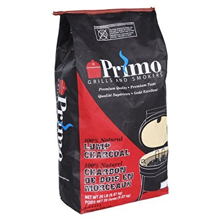 Primo Natural Lump Charcoal - 20 LBS (2-Pack)